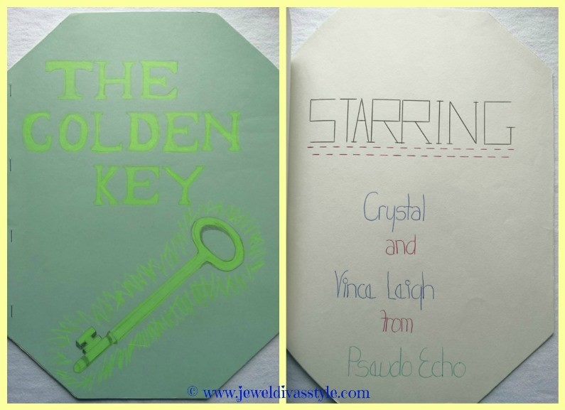 BOOK STYLE: The Golden Key and Junky Joke Book