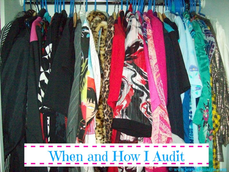 CLOSET CONFIDENTIAL: When and How I Audit