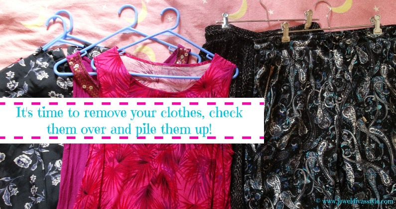 CLOSET CONFIDENTIAL: Remove and Check