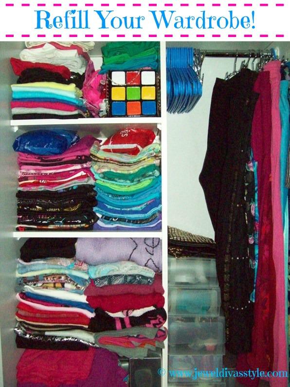 CLOSET CONFIDENTIAL: Refill your Wardrobe