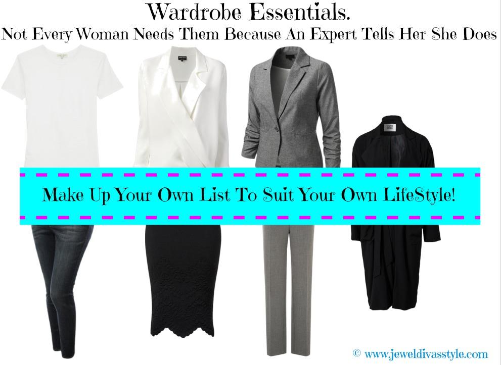 CLOSET CONFIDENTIAL: Wardrobe Essentials