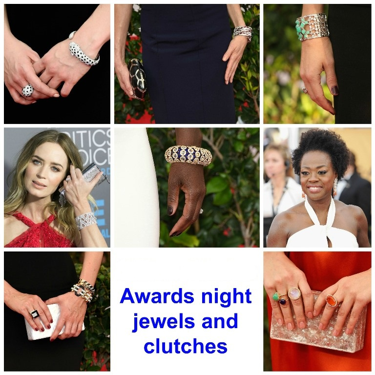 Awards Night Jewels and Clutches