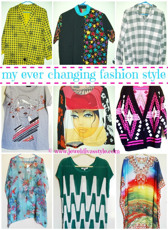My Ever Changing Fashion Style