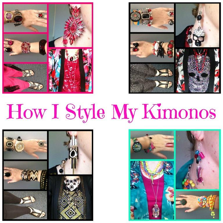 JDS - HOW I STYLE MY KIMONOS