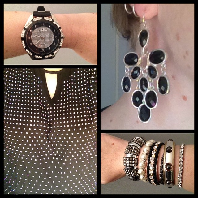 MY STYLE: Studs and Flowers