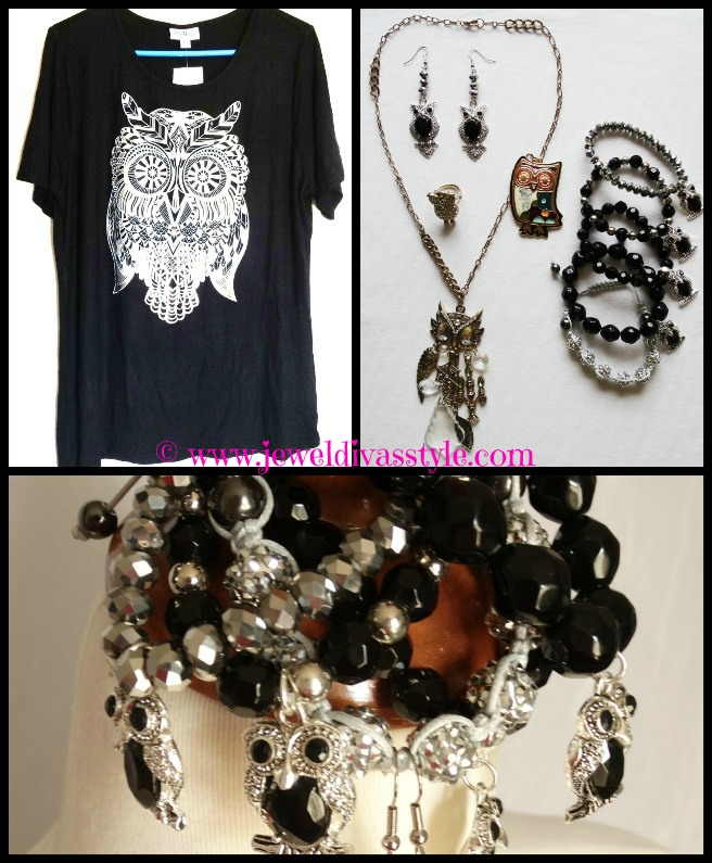 JDS - OWL JEWELS AND TOP