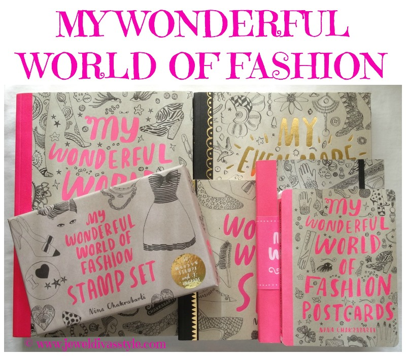 STYLE NOTES: My Wonderful World of Fashion Stamp set