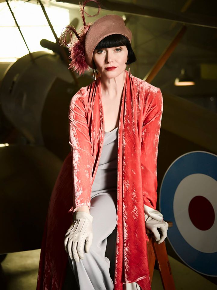 FASHION STYLE: The Fabulously Glamorous Miss Phryne Fisher, recap 2