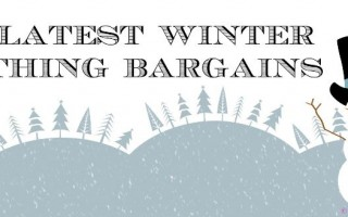 MY PERSONAL COLLECTION: My latest Winter Clothing Bargains