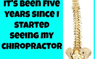 HEALTH & BEAUTY STYLE: It's been five years since I started seeing my chiropractor