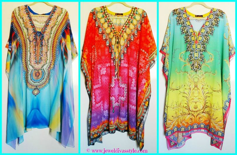 JDS - TROPICAL KAFTANS SHORT
