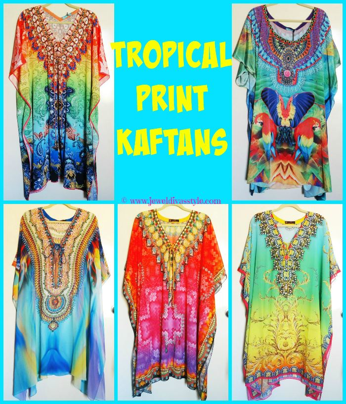 JDS - TROPICAL KAFTANS