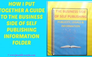 BUSINESS STYLE: How I Put Together a Guide to the Business Side of Self Publishing