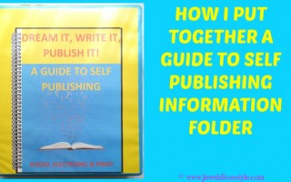 BUSINESS STYLE: How I Put Together a Guide To Self Publishing Information Folder