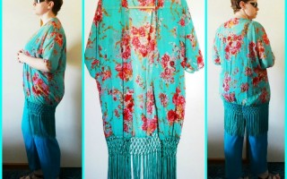 FASHION STYLE: My latest amazing Kimonos