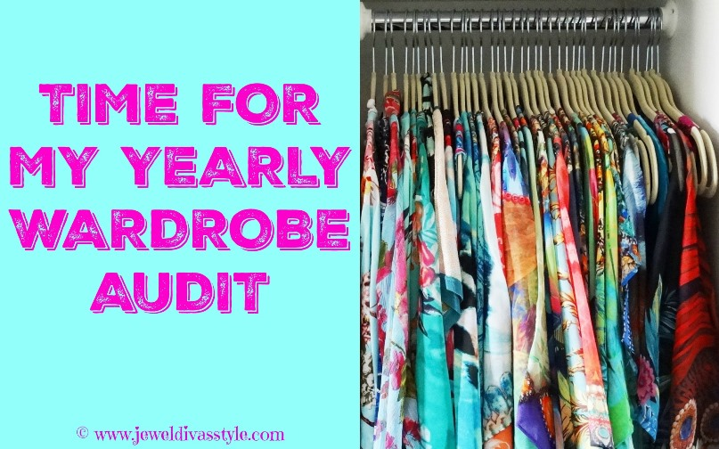 JDS - TIME FOR MY YEARLY WARDROBE AUDIT