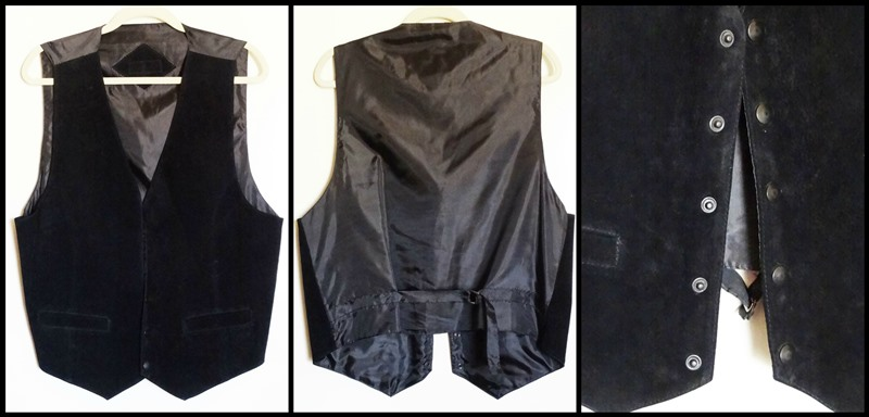 SUEDE WAISTCOAT - PREOWNED