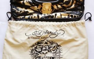 My Ed Hardy Tiara Tigress clutch bag