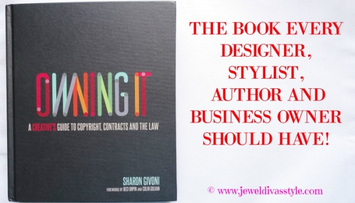 Owning It! The Book Every Designer, Stylist, Author and Business Owner Should Have!