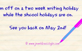 I'm Off On A Writing Holiday…