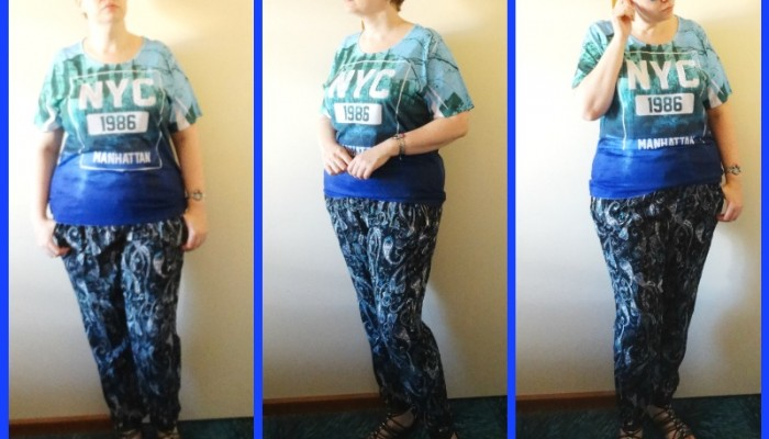 MY STYLE: Casual NYC, Minty Turquoise and Shining Suns
