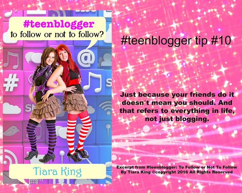 JDS - #TEENBLOGGER BLOG TIP#10