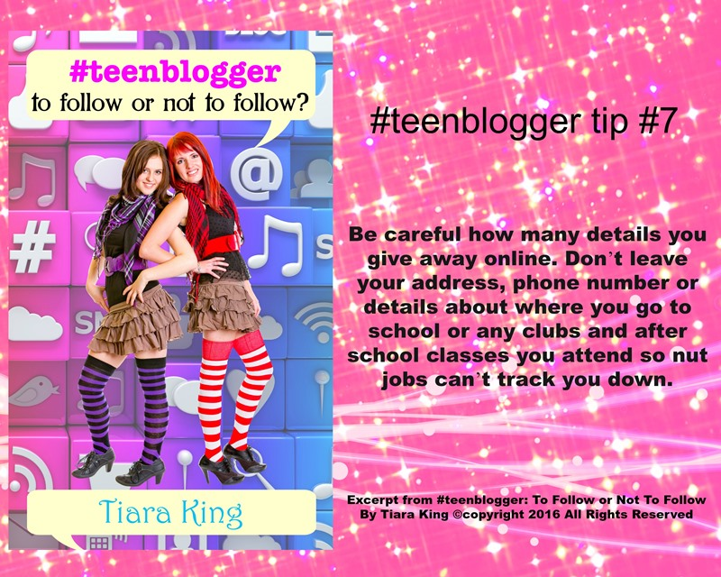 JDS - #TEENBLOGGER BLOG TIP#7