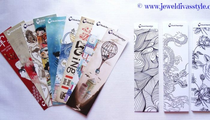 BOOK STYLE: Book Depository bookmarks