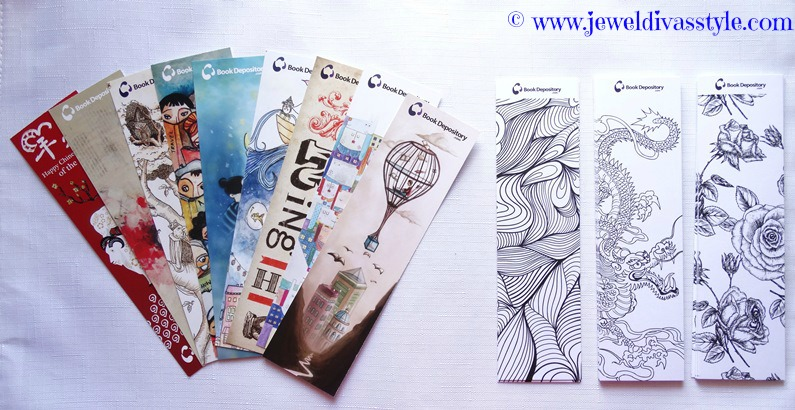 JDS - BOOK DEPOSITORY BOOKMARKS