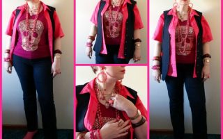 MY STYLE: Pink Studded Skulls