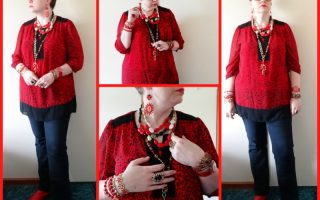 MY STYLE: Red and Black