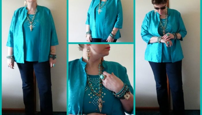 MY STYLE: Arabian Memoirs in blue and green