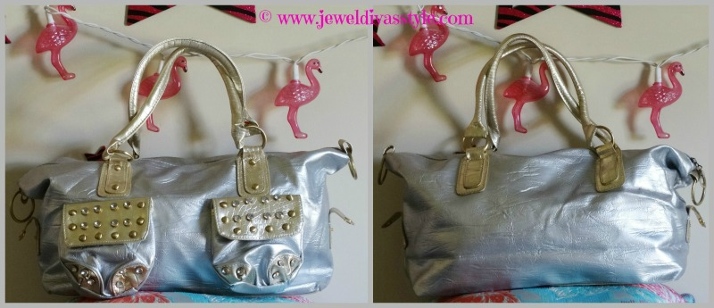 JDS - SILVER GOLD BAG