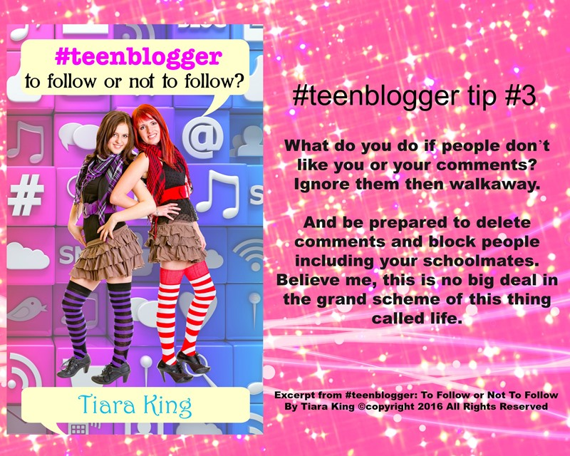 JDS - #TEENBLOGGER BLOG TIP#3