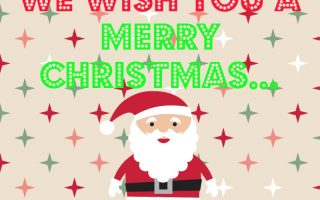 WE WISH YOU A MERRY CHRISTMASSSS……