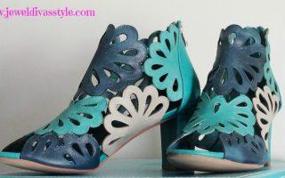 ACCESSORY STYLE: Django & Juliette Floral Heels