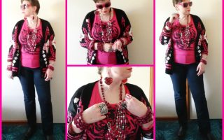 MY STYLE: Pink tigers, Marilyn, and kaftan weather
