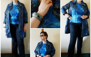 MY STYLE: Crystal Palm Trees and Hibiscus