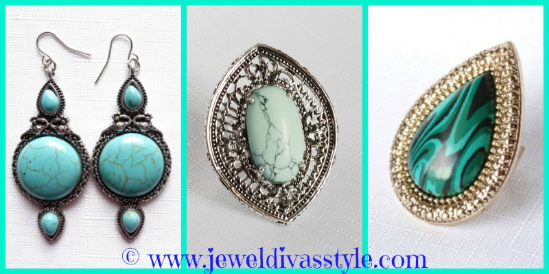 JDS - BLUE AND GREEN JEWELS