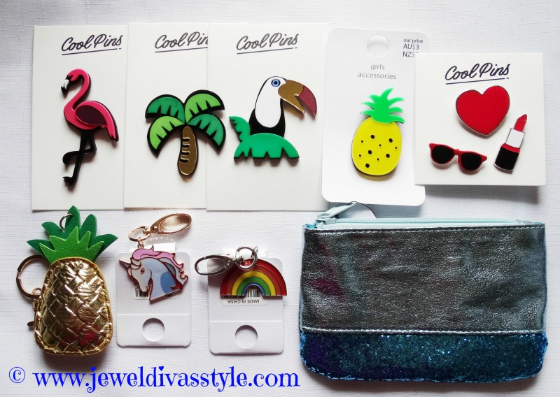 JDS - BROOCHES AND KEYRINGS