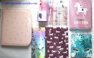 STYLE NOTES: My Kmart Unicorn Stationery Haul