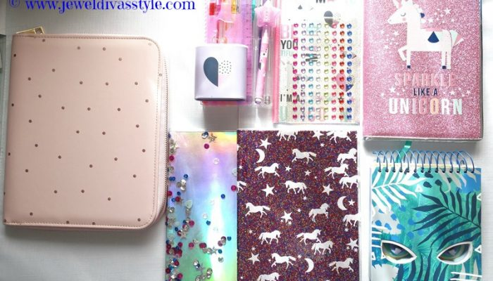 STYLE NOTES: My Kmart Unicorn Stationery Haul