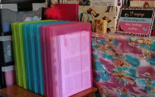 BUSINESS STYLE: Awesome Coloured Storage Containers from Officeworks
