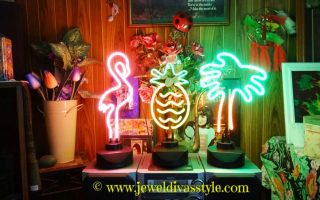 HOME & DECOR STYLE: Tropical lamps and Retro Kitchenware