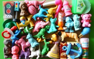 STYLE NOTES: My Eraser Collection