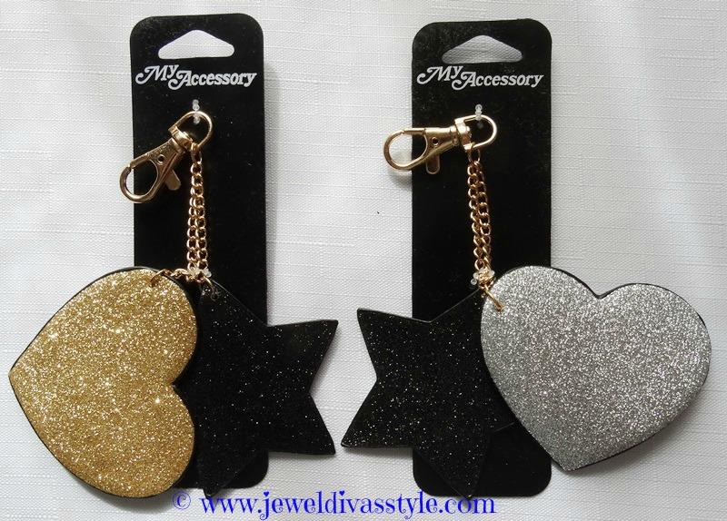 JDS - STAR HEART KEY RINGS