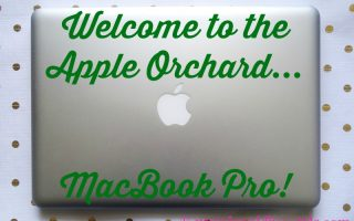 BUSINESS STYLE: Welcome to the family…MacBook Pro