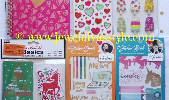PLANNER MONTH: Chain Store Goodies