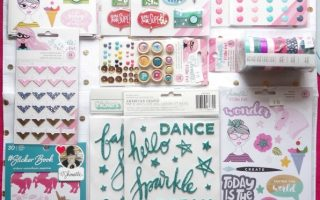 PLANNER MONTH: Shimelle's Glitter Girl Collection