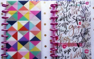 PLANNER MONTH: MAMBI'S The Happy Planner Part 3